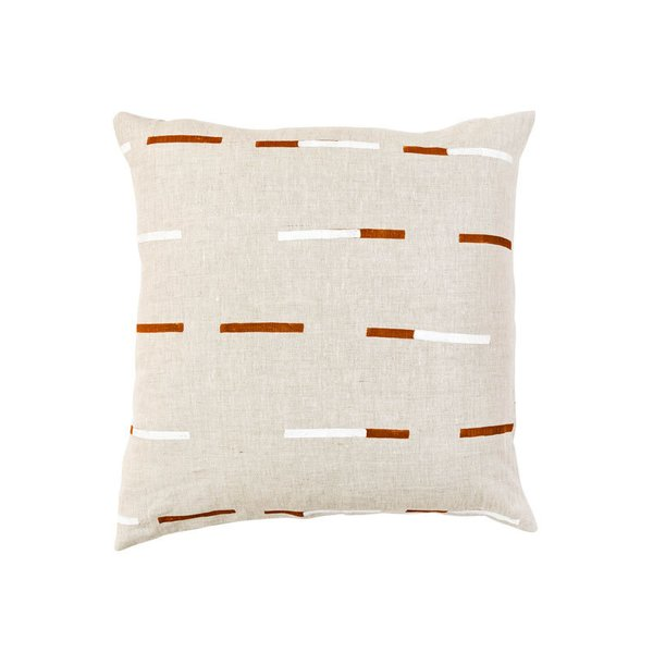 Caroline Z Hurley Overlapping Dashes Pillow