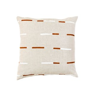 Caroline Z Hurley Overlapping Dashes Pillow