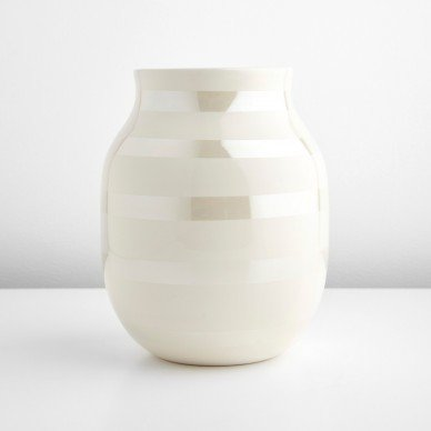Kahler Omaggio Pearl Medium Vase