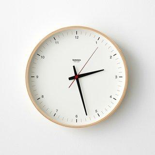 Lemnos Plywood Wall Clock