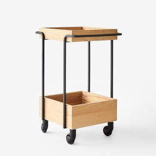 Unison Keating Oak Cart