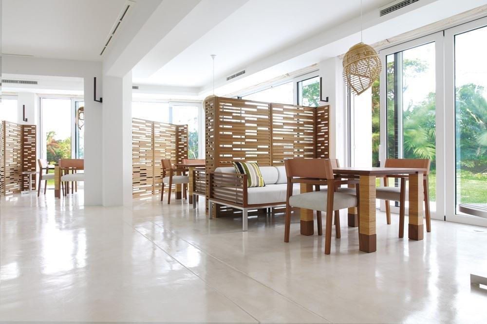 Living Room, Pendant Lighting, Chair, Sofa, and Table  Jusandi