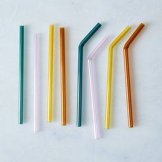 Juiceglass Glass Straws (Set of 4)