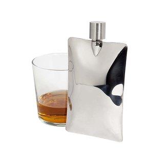 Areaware Liquid Metal Pocket Flask