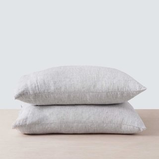 Stone Washed Linen Pillowcases (Set of Two)