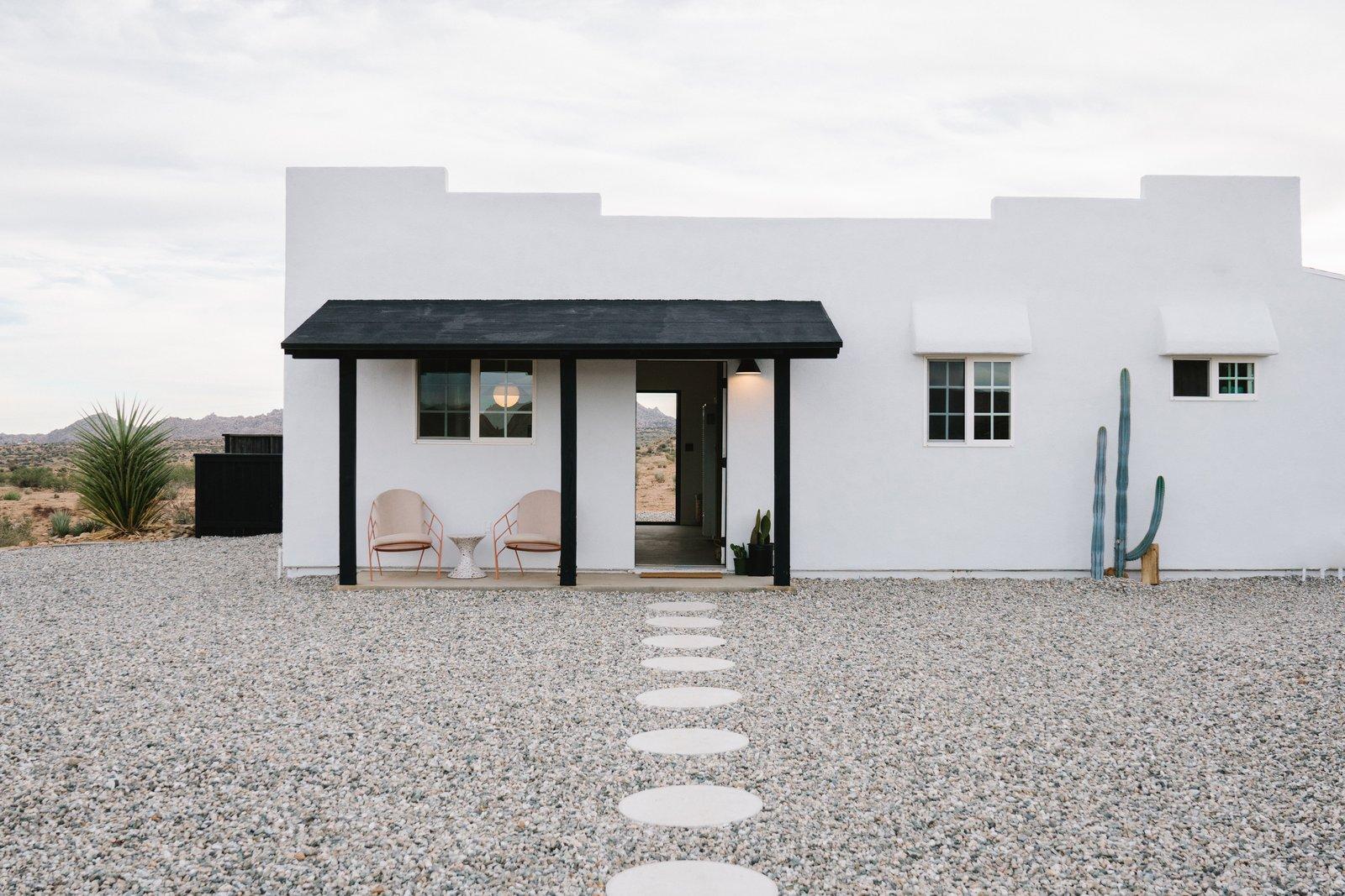 Construction Diary: A Serene Desert Hideaway Is Part Rental, Part Designer Showcase