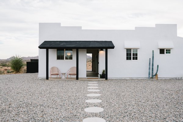 Construction Diary: A Serene Desert Hideaway Is Part Rental, Part Designer Showcase