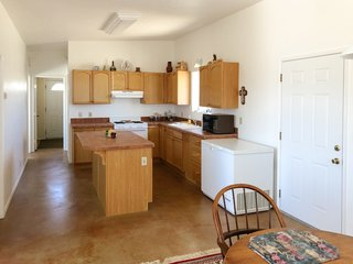 Before: the old kitchen would become the guest bedroom