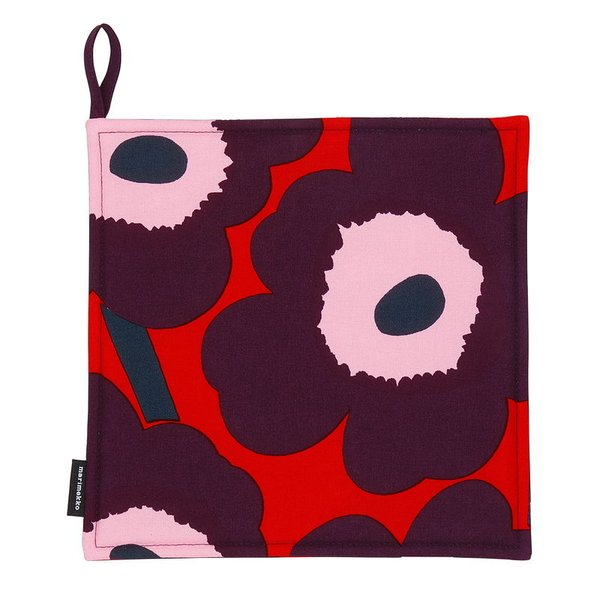 Pieni Unikko Pot Holder (Red)