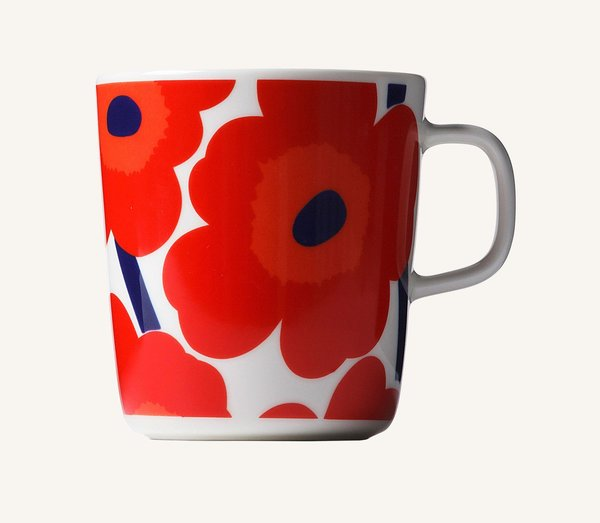 Unikko Large Mug (Red)