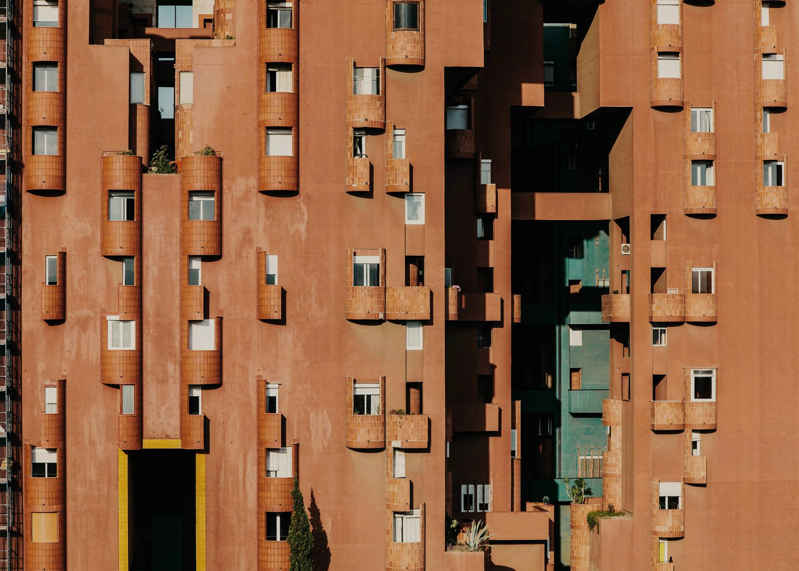 Walden 7's unsystematic layout offers an alternative to conventional apartment blocks.