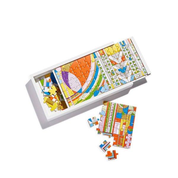 Frank Lloyd Wright Wood Puzzle Set