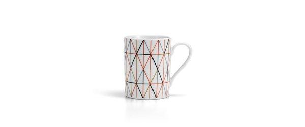 Vitra Grid Porcelain Coffee Mug