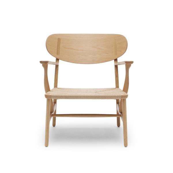 outdoor wooden chairs canada folding chair carl hansen son ch22 lounge chair shop modern furniture dwell