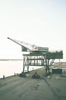 An Old Coal Crane in Copenhagen Is an Unlikely One-Room Hotel
