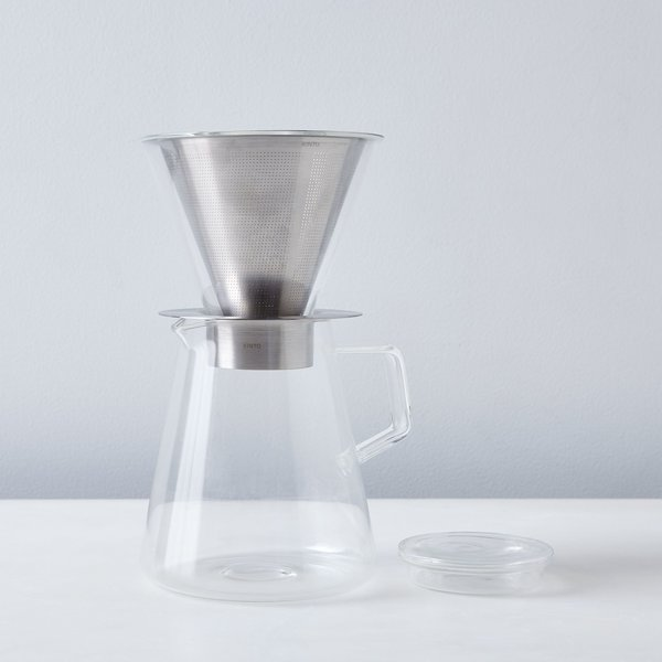 Kinto Stainless Coffee Dripper & Pot