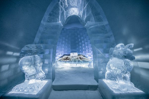 "Sweden's Icehotel Reveals Stunning New Artist-Designed ""Ice Suites"""