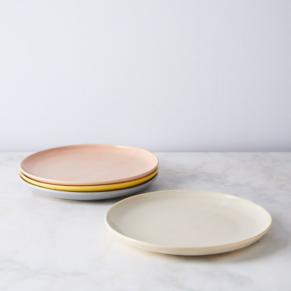 Helen Levi Ceramics Sunrise Dinner Plates (Set of 4)