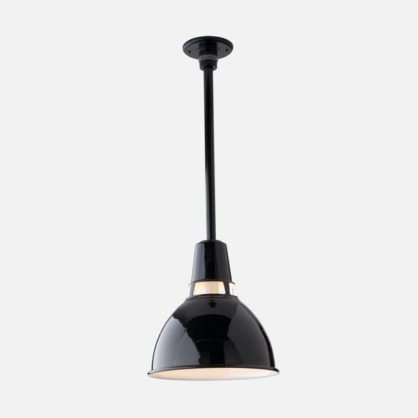 Schoolhouse Factory Light No. 6 Rod Pendant