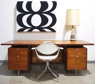 The Perfect Vintage eBay Furniture Finds For Your Home Office