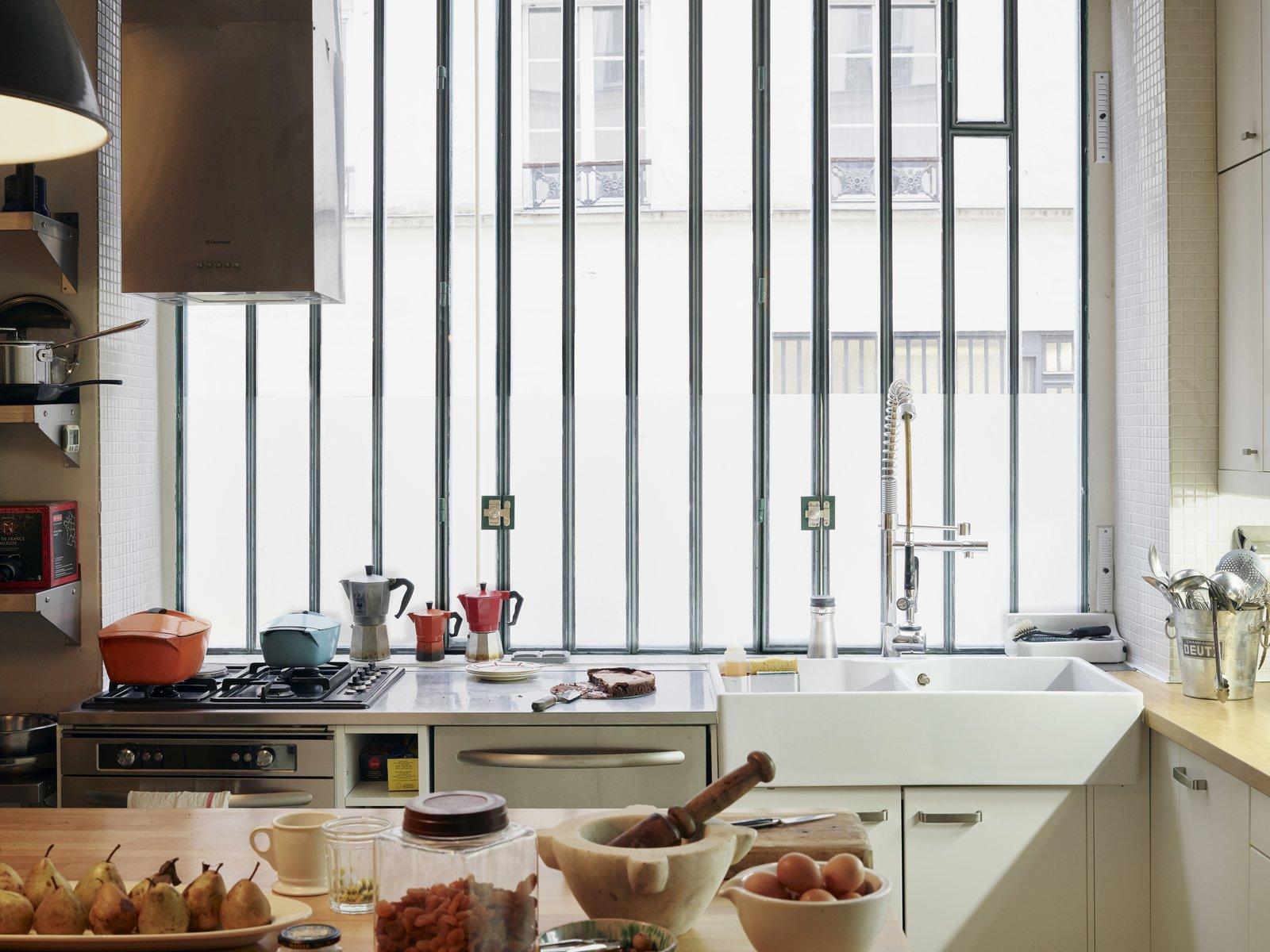 David Lebovitz' Paris kitchen
