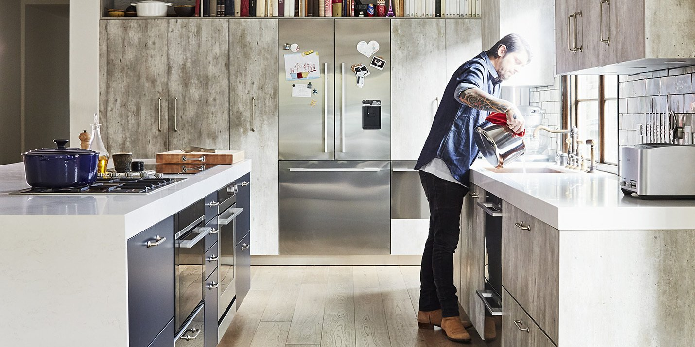 Kitchens We Love: Trois Mec Chef Ludo Lefebvre Demonstrates How He Plies His Craft at Home