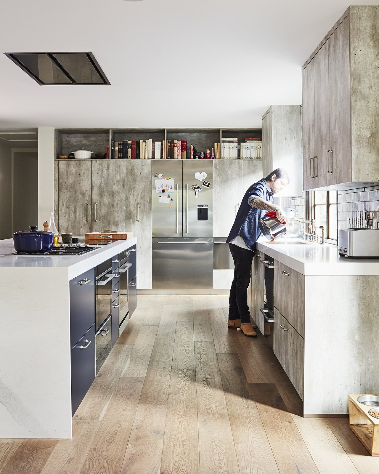 Ludo Lefebvre's kitchen