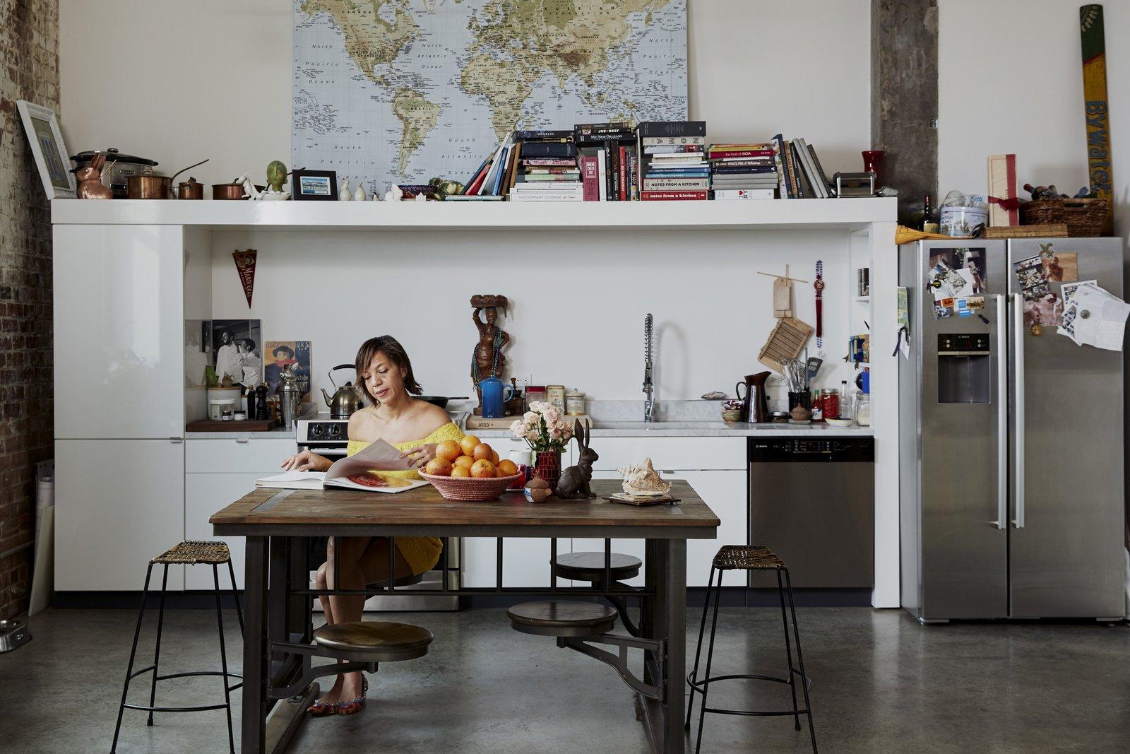 Nina Compton's kitchen