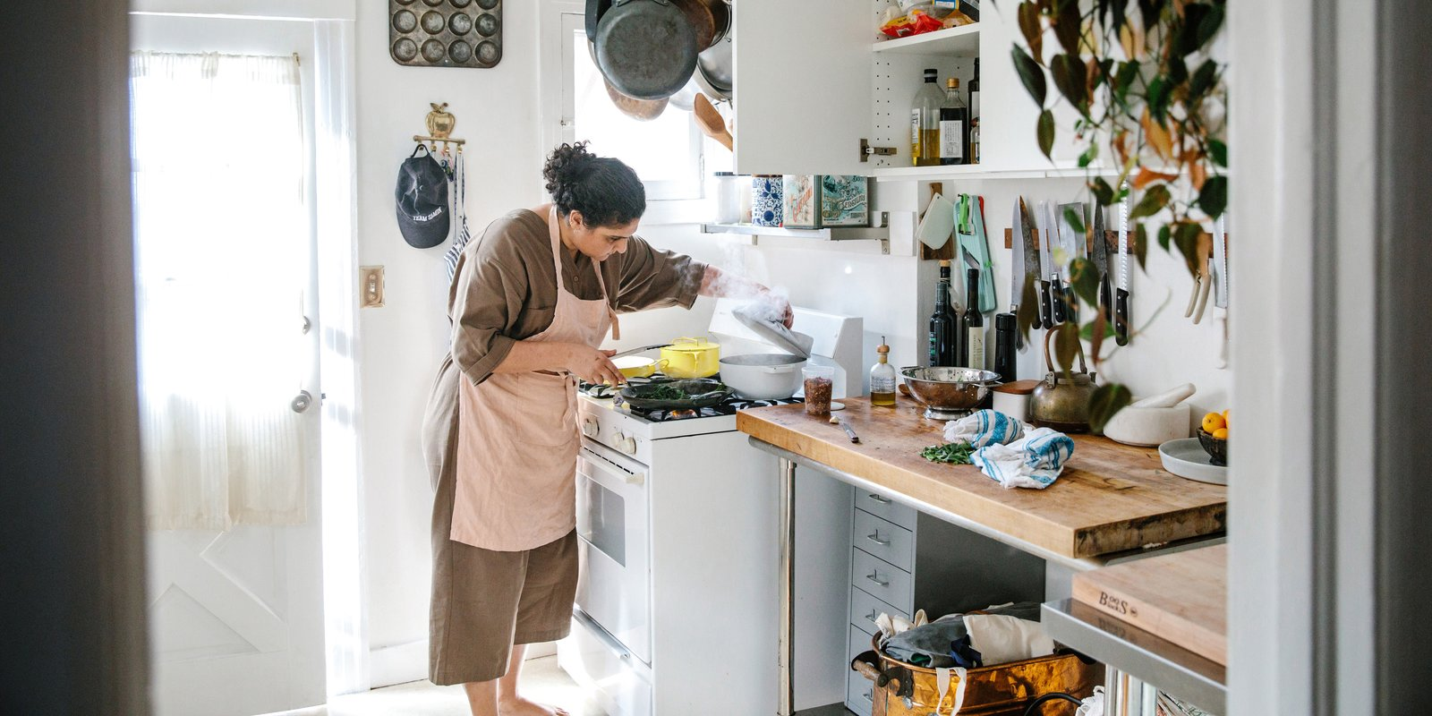 Kitchens We Love: Best-Selling Cookbook Author and Netflix Host Samin Nosrat Opens Her Doors