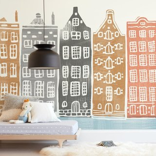 Griffinbell Paper Co. On the Canal  Removable Wall Mural