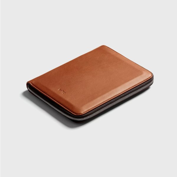 Bellroy A5 Folio Cover in Caramel