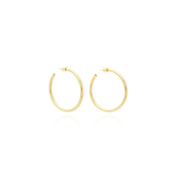 Jennifer Fisher Baby Gold-Plated Hoop Earrings