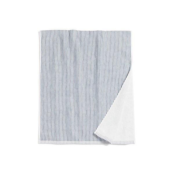 Morihata Shirt Stripe Compact Bath Towel