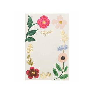 Rifle Paper Co. Wildflowers Memo Pad