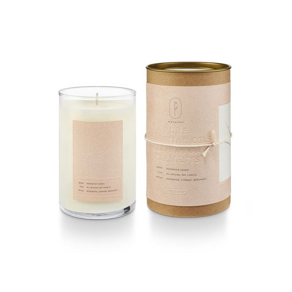 Illume Elemental Natural Glass Candle