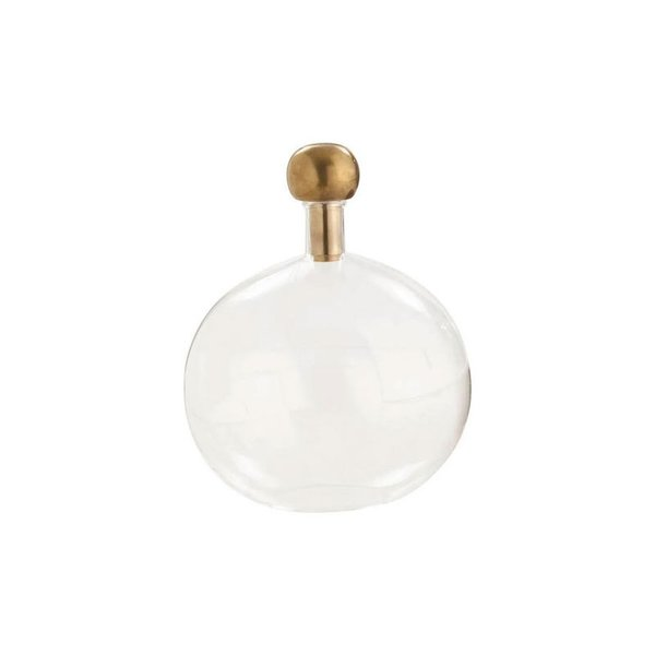 Arteriors Edgar Sphere Decanter, Clear