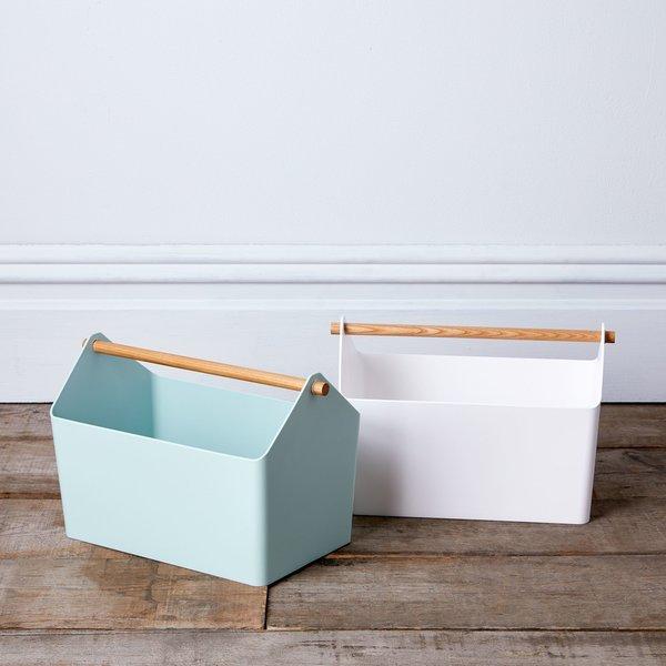 Yamazaki Wood-Handled Storage Box
