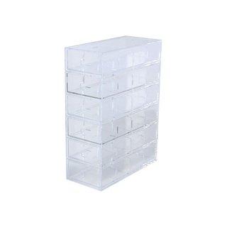 Muji Acrylic Storage 6 Drawers