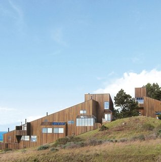Located about two and a half hours north of San Francisco, Sea Ranch is a community whose buildings were designed to be integrated into the landscape.