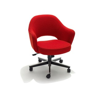 Knoll Saarinen Executive Armchair With Swivel Base