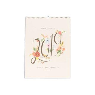 Rifle Paper Co. 2019 Bouquet Appointment Calendar