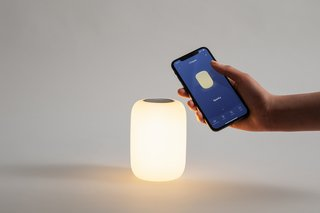 Casper's Glow app allows you to customize the lamp's settings.