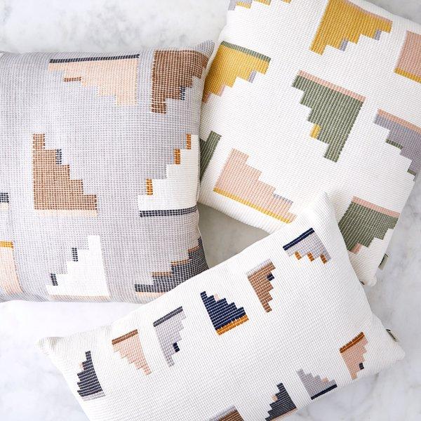 MINNA Handwoven Cotton Barragan Pillow