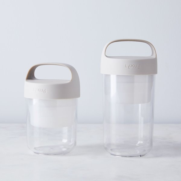 Lékué To-Go Container With Handle (Set of 2)