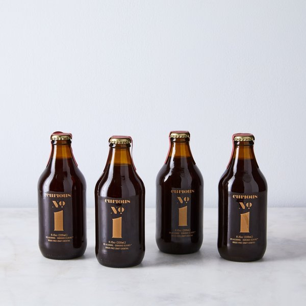 Curious Elixirs Nonalcoholic Craft Cocktail (4-Pack)