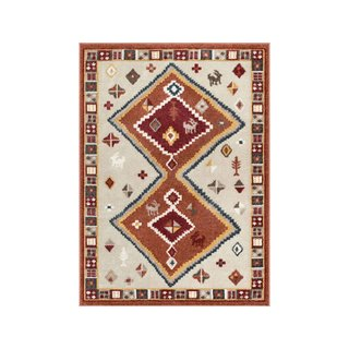 Well Woven Coby Crimson Tribal Rug