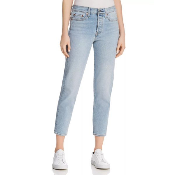 Levi's Wedgie Icon Jeans in Bauhaus Blues