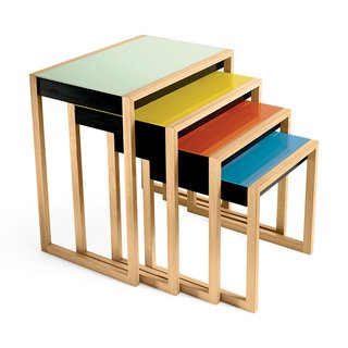 Josef Albers Nesting Tables