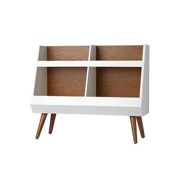 Crate & Barrel Mid-Century Bookcase