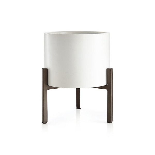 Crate & Barrel Dundee Small Tabletop Planter